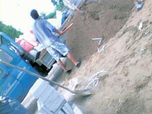 Concret gang member in Beiwu Jiayuan