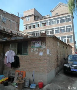 Liulangzhung buildings before demolishment